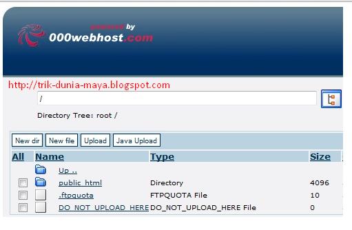 Cara Membuat File Manager di 000webhost.com