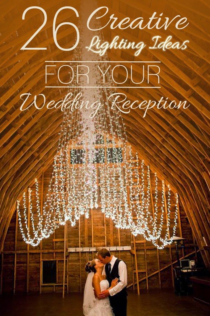 Draped Barn Lights - Creative Lighting Ideas for Your Wedding Reception