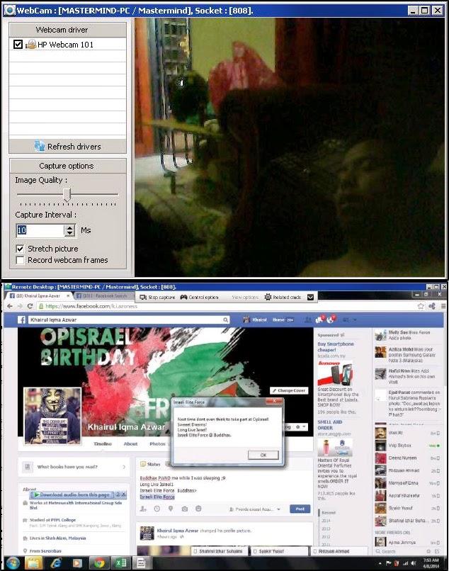 Hacker Malaysia Kantoi Dalam Serangan OpIsrael