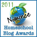 Homeschool Blog Award Nominee!