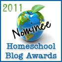 Homeschool Blog Award Nominee!