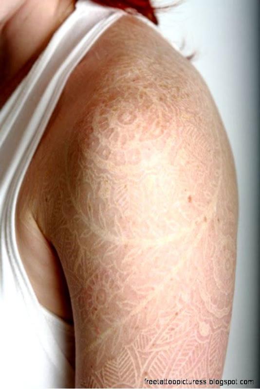 Gorgeous White Ink Tattoos   Likes