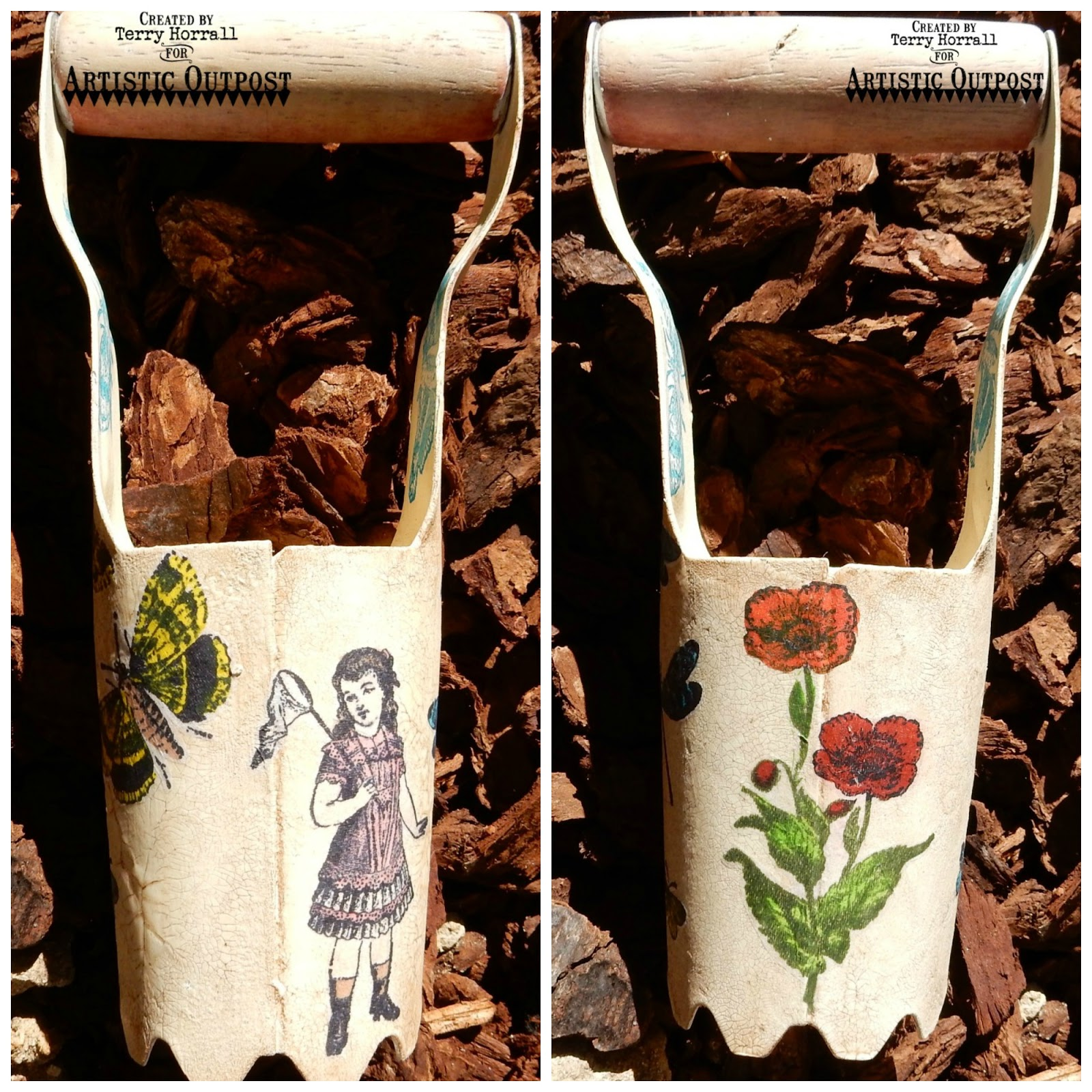Stamps - Artistic Outpost Flower Garden