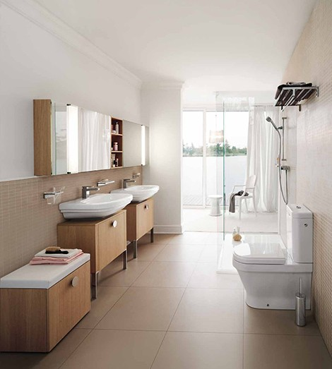 Huge Bathroom Interior Design