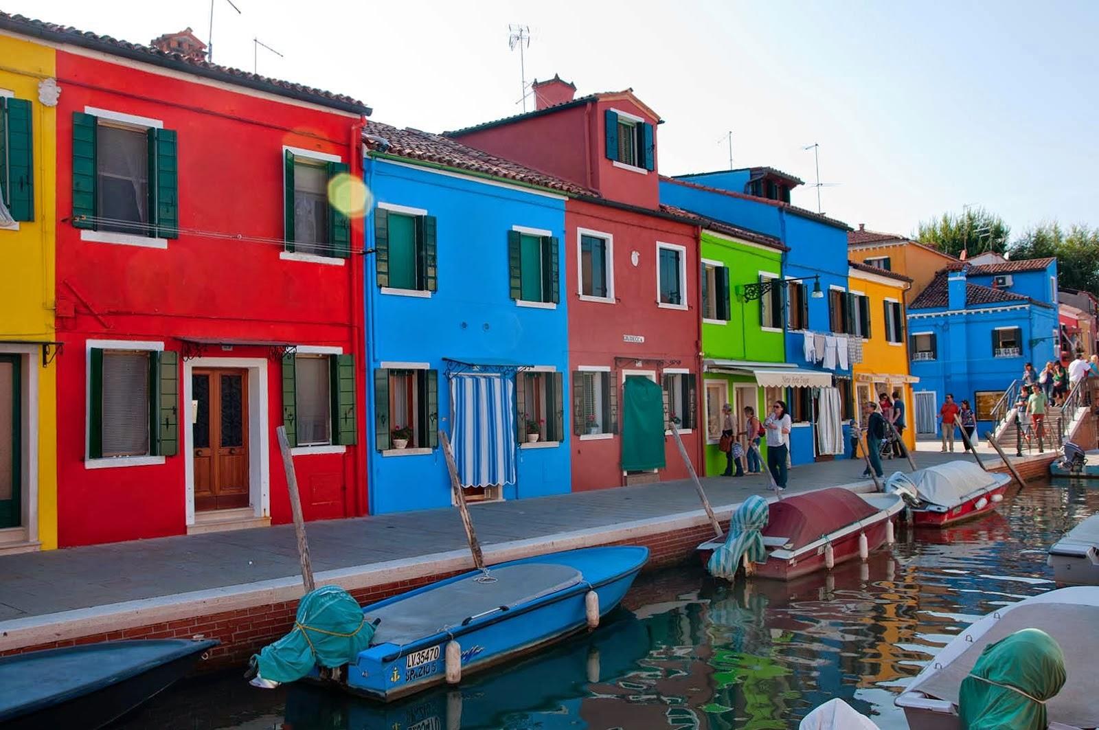 Las Mejores Fotografías del Mundo: Las casas de colores de Burano ...