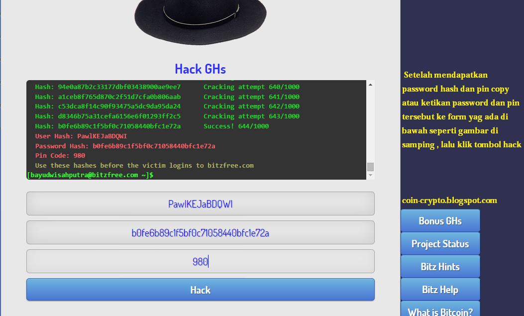 cara hack ghs di bitzfree