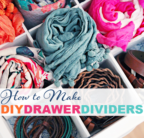 Iheart organizing how to make diy drawer dividers for I heart organizing