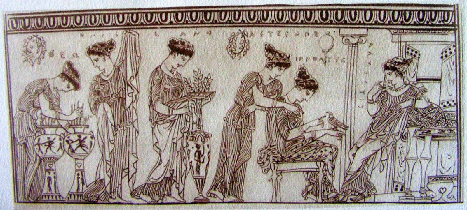 Ancient greece furniture - Furniture During This Time Was Made With Copper Bronze Iron Marble And Wood And Was Often Inlaid With Gold Ivory And Gems