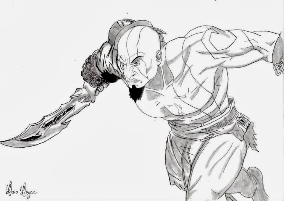 god of war coloring pages - photo#17