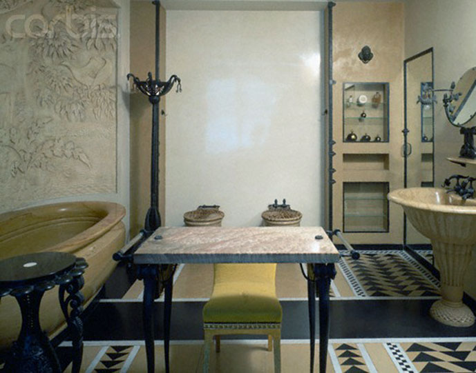 via fashioned by love | Jeanne Lanvin apartment in Paris