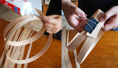 ของแต่งบ้านทำเอง: โคมไฟ DIY 2