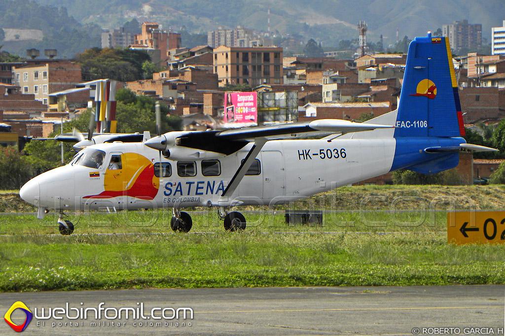 Avión HY-12 de Satena