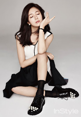 Baek Jin Hee - InStyle Magazine January Issue 2016