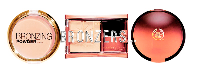 Back To School Makeup Essentials | Bronzer, Blusher and Highlighter