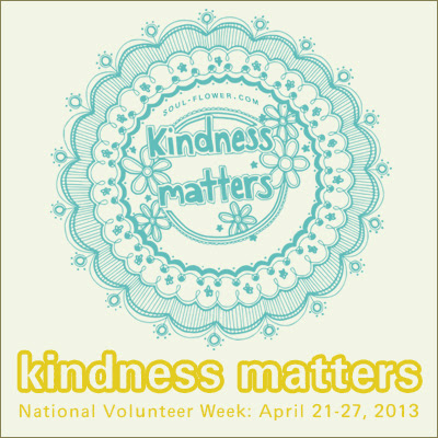 kindness square - Volunteer: Kindness Matters!