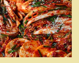 Kimchi is one of the typical Korean Culinary enough Popular
