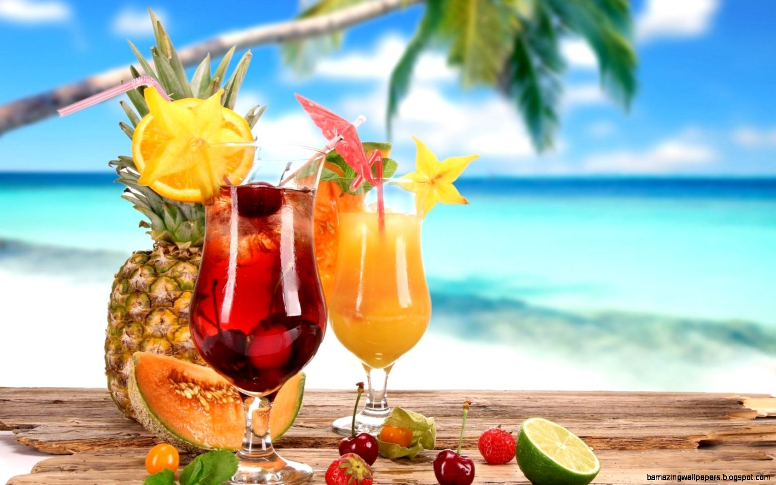 Summer Drinks HD Wallpaper Download Of Fruity Drinks