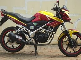 Modifikasi Honda CB150R Iron Man
