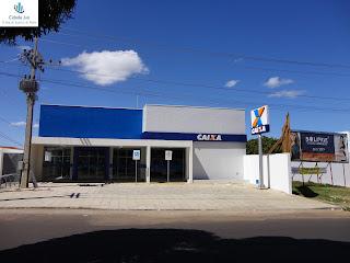 Nova agência da Caixa no Pirajá.