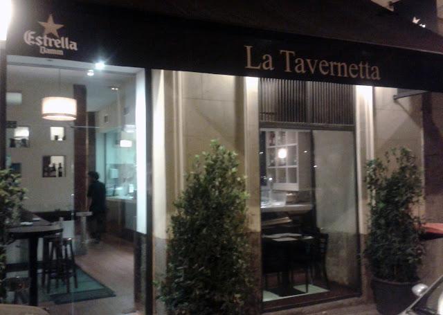 Restaurante La Tavernetta, exterior