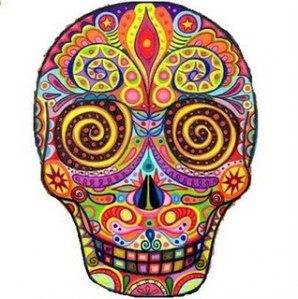 tatuagens de Caveira Mexicana
