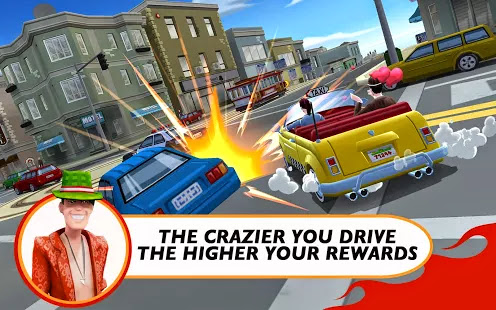 Crazy Taxi™ City Rush v1.0.2 Apk Obb Android