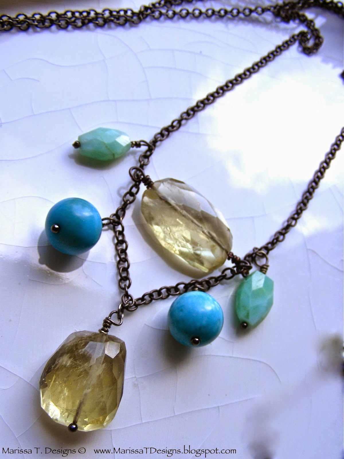 The Blue Duchess Necklace