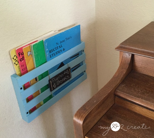 How to Build a Piano Book Rack, MyLove2Create