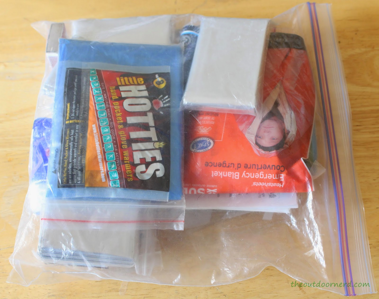 Misc Items for Emergency Bag 1 of 5
