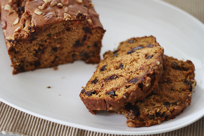 Chocolate Chip Pumpkin Bread Recipe