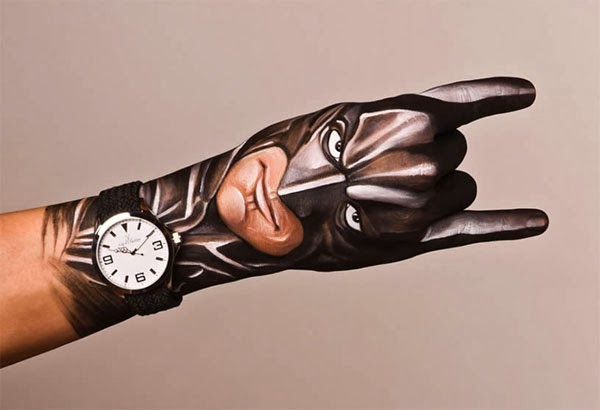 Hand Painting Art By Guido Daniele Icreatived
