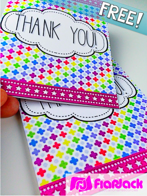 http://www.flapjackeducation.com/2014/07/thank-you-gracias-cards-freebie-and.html