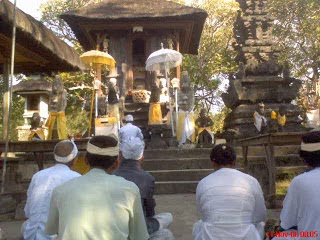 Pura Andakasa di Pulau Bali