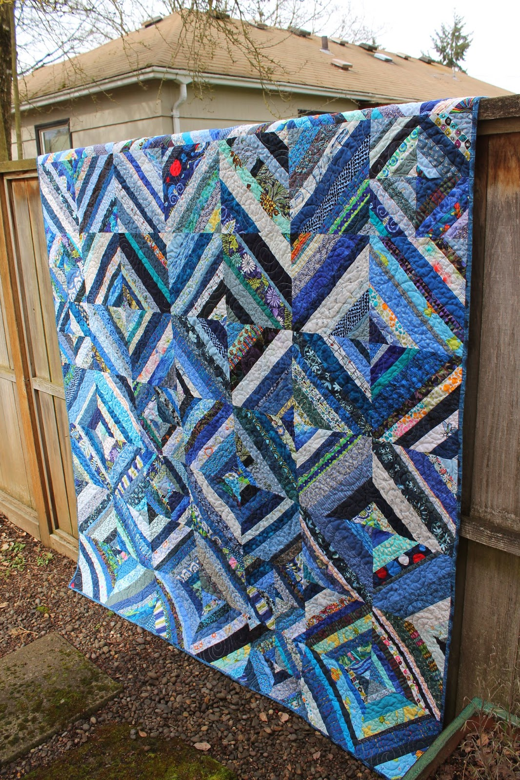 Quilting is more fun than housework some scrap busting for Scrap quilt