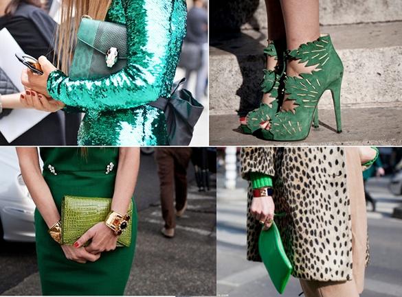looks verde esmeralda