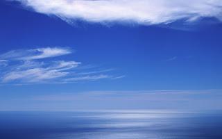 Wallpaper hd : Blue sea horizon