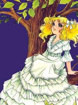 Imagen de Candy nostálgica sentada en el árbol