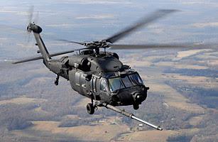 Helikopter MH-60K Sikorsky Black Hawk