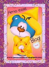 Obrigada Amiga Adiinety, do maravilhoso blog Mania de Pintar e Crochetar.