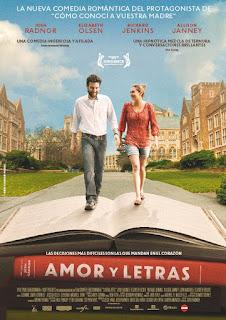 Amor y letras Poster