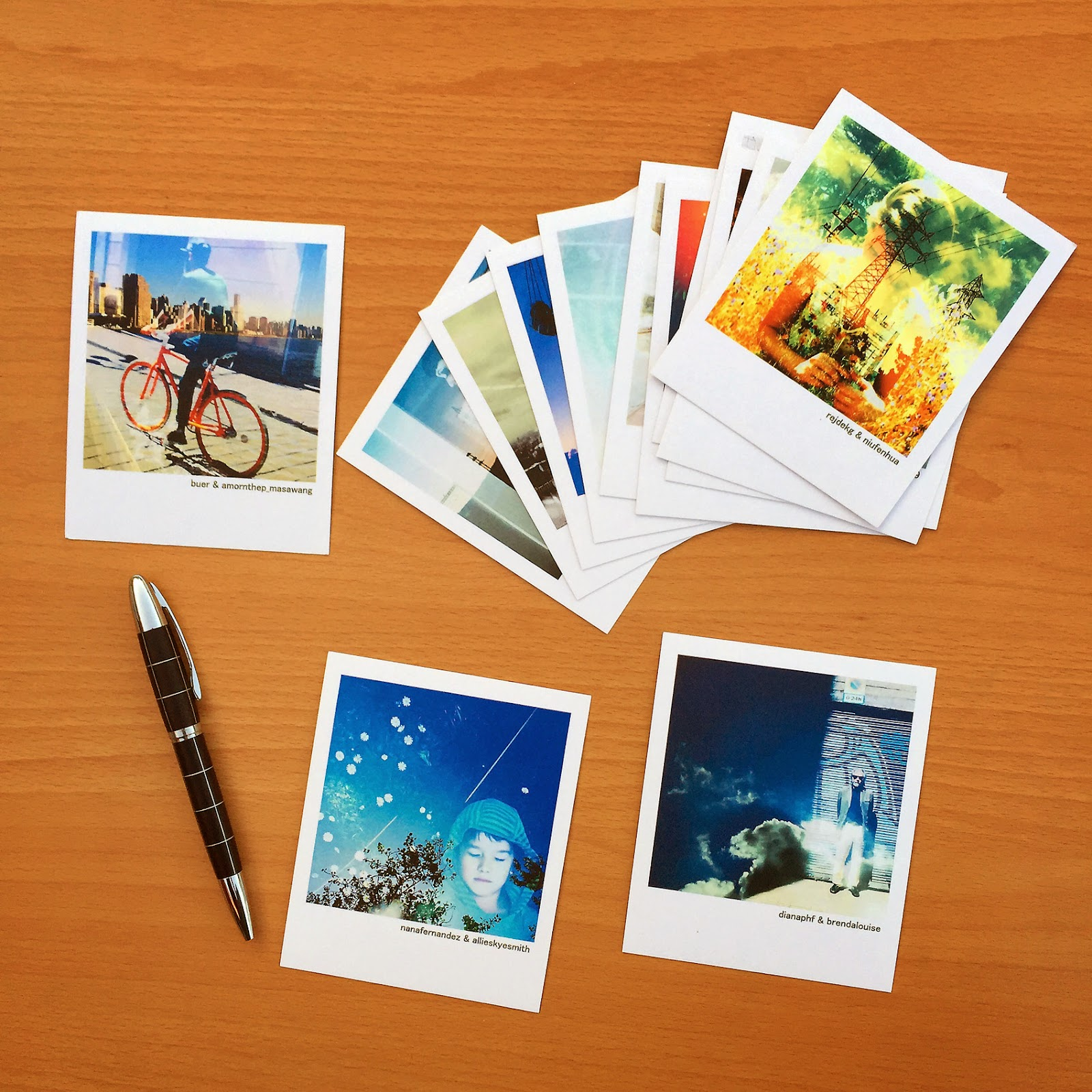 Polaroid Print Card for instagram