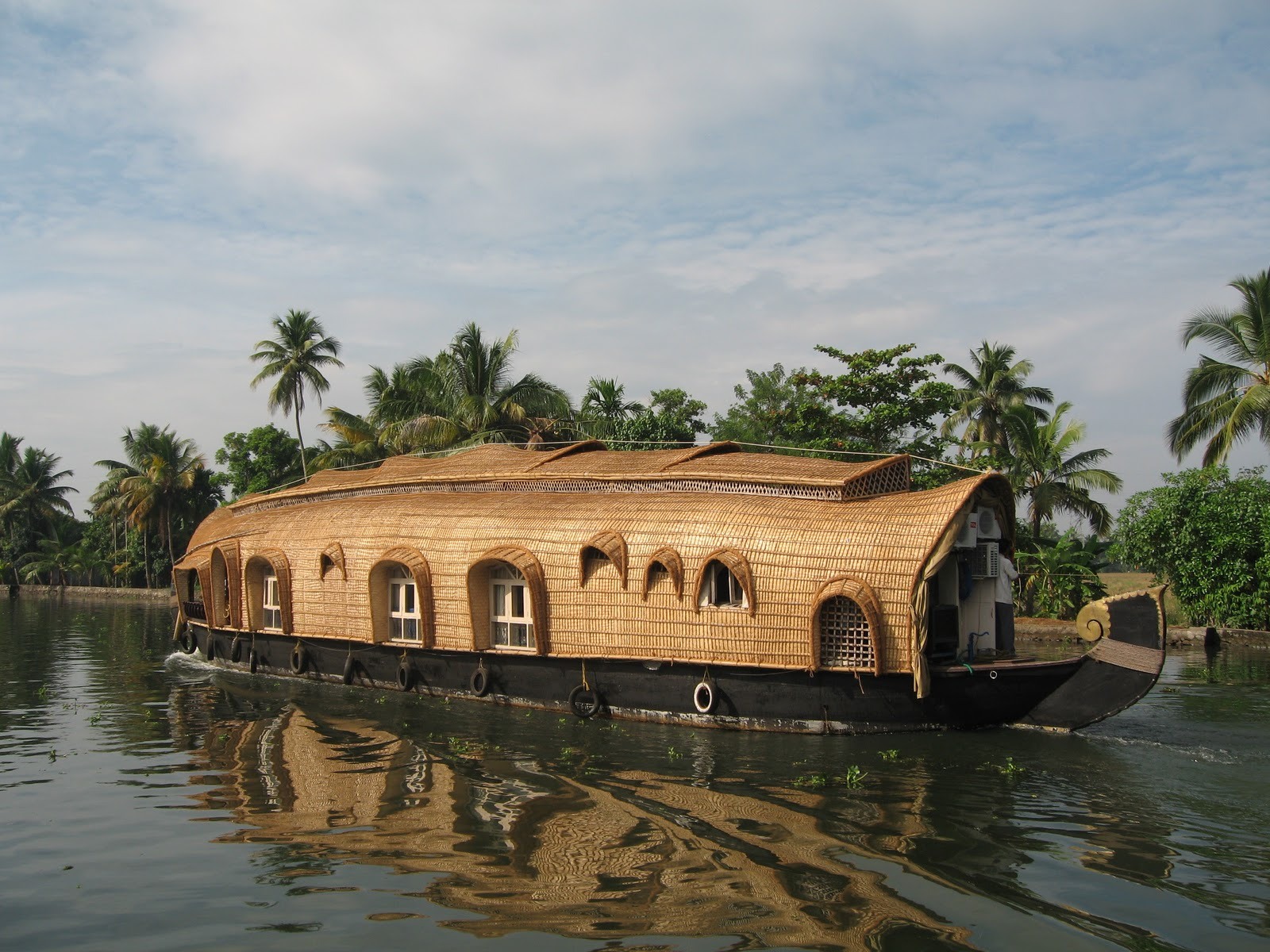 Visitor For Travel Amazing Kerala Houseboats Photos Wallpapers