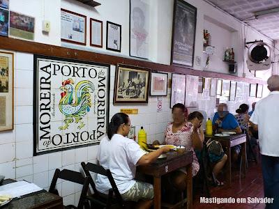 Porto do Moreira: Ambiente