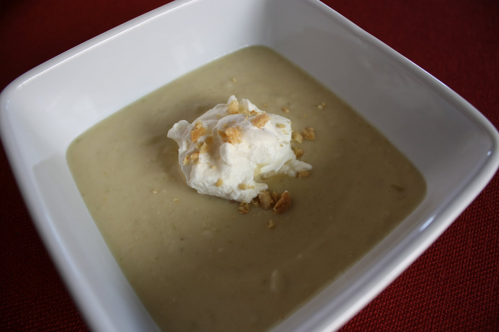 Lactose-Free Girl: Roasted Peanut Soup with Honey Whipped ...