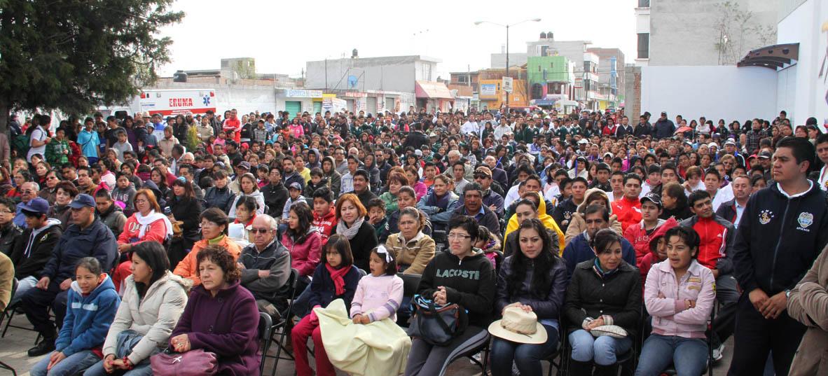 Presidencia municipal de apizaco inauguran en apizaco los for Mejores gimnasios