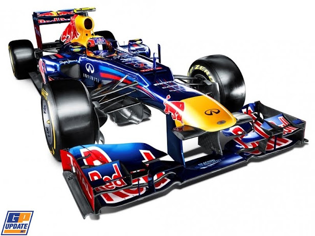 RED BULL RACING - Coche oficial de F1 2012