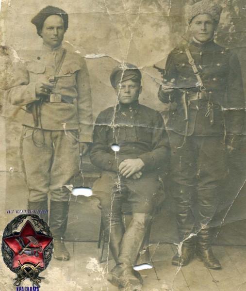 Ancien 13 ème régiment &;narva&; en 1918 dans laprovince de tambov