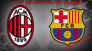 liga Champion Ac Milan vs FCB