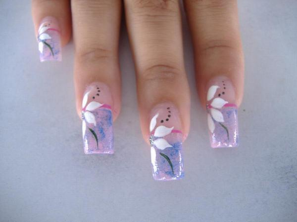 Nails and fashion tips dise os de u as de internet for Unas de porcelana disenos