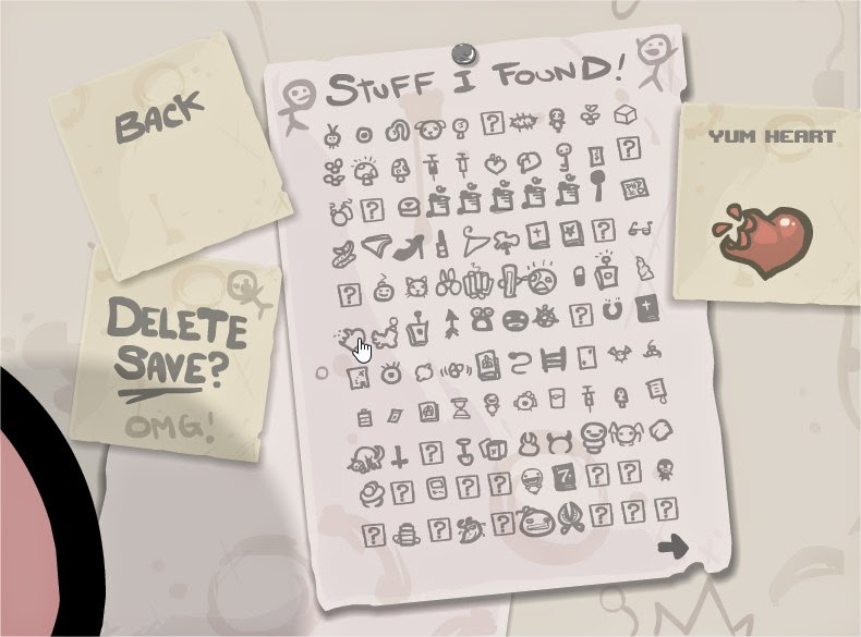 objets the binding of isaac rebirth